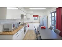 Shared Student Accommodation- Single room, double bed, en suite bathroom, shared kitchen