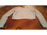 Cropped Jumper Aged 10/11