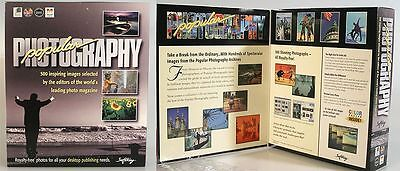 500, STOCK PHOTOS ON TWO CDS OF WORLDLY SUBJECTS, NEW IN BOX
