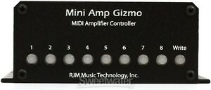 10/10 Midi RJM Mini Amp Gizmo Pedal+ EVH 5053 Custom Cable