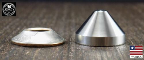 Starter Cone for Folding Dies Stainless Steel coin ring tools