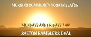 Morning Community Yoga in Seaton Seaton Charles Sturt Area Preview