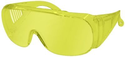 Radians Chief Overspec Safety Glasses With Amber Lens Ansi Z87