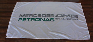 Mercedes AMG Petronas Banner Flag Formula One Racing Team F1 Sign 3 x 5 New