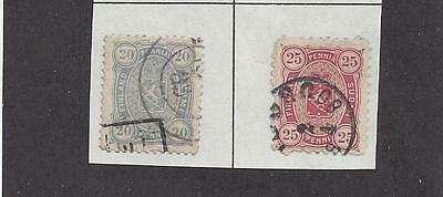 FINLAND  #21-22 USED