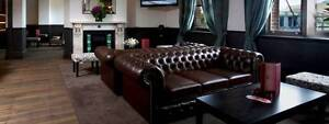 MORAN STYLE CHESTERFIELD SOFAS X 2 Melbourne CBD Melbourne City Preview