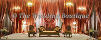 ■■■THE WEDDING BOUTIQUE ■■■ SOUTH ASIAN STYLE WEDDING BACKDROPS