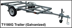 2017 New SALTER Trailer-3 Way-Boat-Utility-Flatdeck and Folds UP