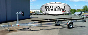 NEW 2017 Single-Axle Light-Duty Pontoon Trailer 2500lbs CAPACITY