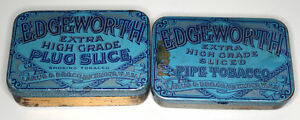 Vintage Edgeworth Tobacco Tins