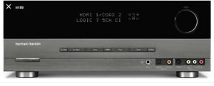harmon/kardon 5.1 channel receiver and speakers