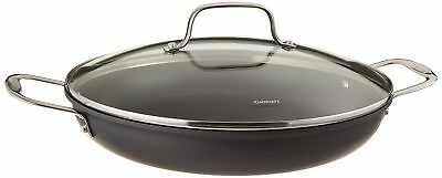 Anodized 12 Inch Everyday Pan - Cuisinart 625-30D Chef's Classic Nonstick Hard-Anodized 12-Inch Everyday Pan