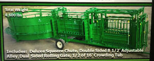 Looking For a Portable squeeze chute/ crowding tub unit
