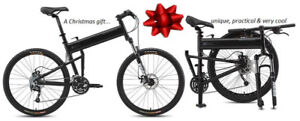 All I want 4 Xmas is a Montague Full-size Folding Mountain Bike