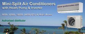 27000 BTU Dual Zone air conditioner with Heat Pump & INVERTER St. John's Newfoundland image 2