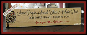 Fully Personalized Gift Home Decor