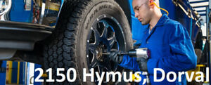 NEW summer TIRES 205/55/16-290$txin4tires * 2150 Hymus, Dorval *