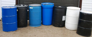 Plastic Barrels, Totes & Containers Recycled (posted 30 Dec.