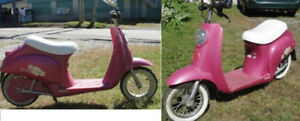 Pink Daisy Scooter