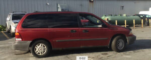 2000 Ford Windstar Fully Operational Red Minivan