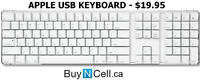 MINT CONDITION APPLE WIRED USB KEYBOARD + 3 MONTH WARRANTY