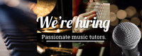 Hiring - Piano, Voice and Guitar Teachers