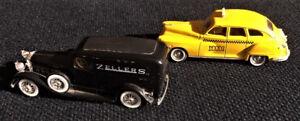 Solido Vintage Metal Cars