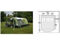 Sunncamp Breton Air 600 - Large, spacious inflatable air frame tent