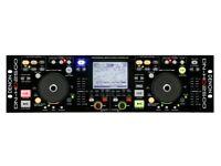 Dj Denon HD2500 Controller with DN-X500 Mixer in flight case