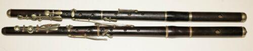 2 German wooden Flutes for repair