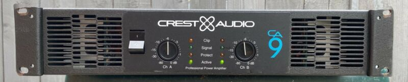 Crest Audio CA9 Stereo Power Amplifier