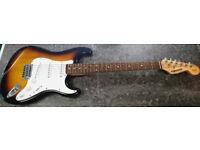 Fender Starcaster (Stratocaster Style) Electric Guitar - Sunburst