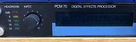 PCM-70 Digital Reverb V2 & V3 Rom - CLASSIC!