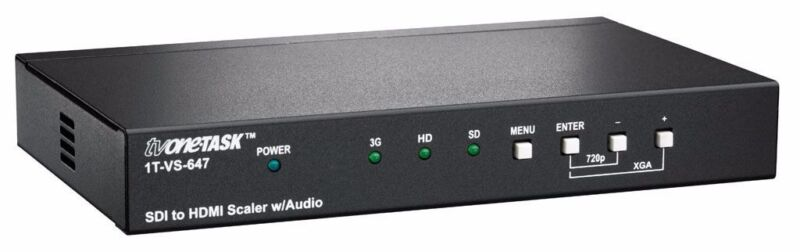 TV One 1T-VS-647 SDI to HDMI Scaler with Audio New in Box