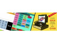 EPOS SYSTEM COMPLETE SHOP TILL WITH SOFTWARE AND MENU PROGRAMMING