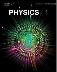 NELSON PHYSICS 11 UNIVERSITY PREPARATION STUDY GUIDE Paperback –