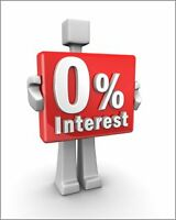 0% FINANCE on New cars and trucks and 110$ gift card
