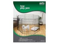 Large Dog Play Pen By Pets At Home. Great for House training, Travel and Behavioural problems.