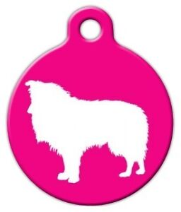 SHETLAND SHEEPDOG - Custom Personalized Pet ID Tag for Dog and Cat Collars