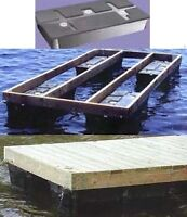 FLOATS for FLOATING DOCK –Made in Canada-Pay CASH we EAT the HST
