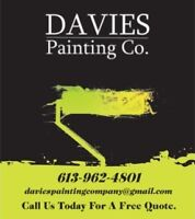 PAINTING SERVICES AVAILABLE!