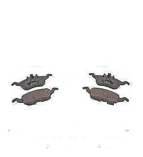Ford Fiesta 1.25 1.3 1.4 1.6 1.4TDCi 1.6 TDCi Front Brake Disc Pads 2002-2008