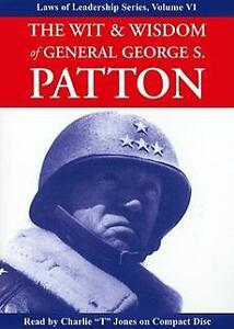 NEW The Wit & Wisdom of General George S. Patton by George S. Patton Compact Dis