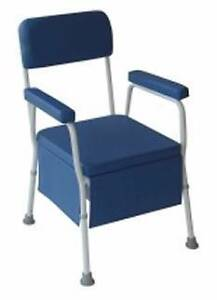 Deluxe Bedside Commode Chair Holder Weston Creek Preview