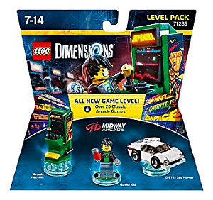 Lego Dimensions 71235 - Midway Arcade Level Pack
