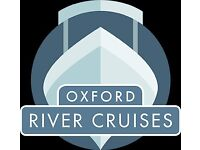 Boat Skippers Wanted for Small Passenger Vessels on the River Thames - Oxford River Cruises