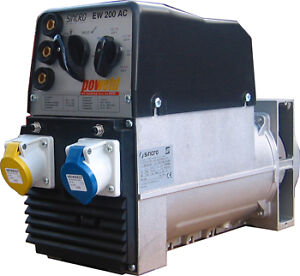 GENUINE-SINCRO-EW200AC-200AMP-WELDER-GENERATOR-ALTERNATOR