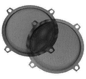 NEW HAWG WIRED PUNCHED STEEL MESH SPEAKER GRILLS Harley Davidson