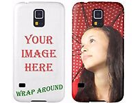 Phone Covers Printed Full Color Personalized / Any Image or Text / Any Make or Model