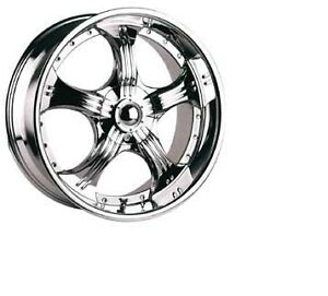 ROUES (MAGS) RTX STAR CHROME 20X8.5 5-115